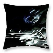 neon I Throw Pillow