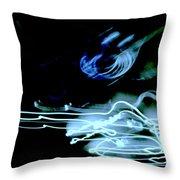 neon II Throw Pillow