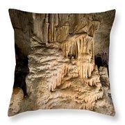Nerja Caves In Spain Throw Pillow