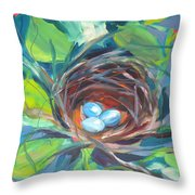 Nest Of Prosperity 2 Throw Pillow