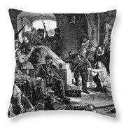 Netherlands: Spanish Fury Throw Pillow