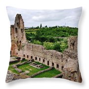 Neuleiningen Castle Throw Pillow