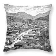 Nevada: Austin, C1880 Throw Pillow