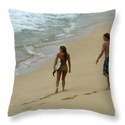 Never Ending Summer Throw Pillow