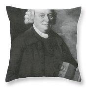 Nevil Maskelyne, English Astronomer Throw Pillow