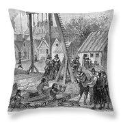 New Amsterdam: Trade Throw Pillow