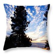 New Dawn Rising Throw Pillow