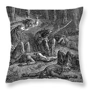 New England: Captives Throw Pillow