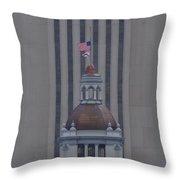 New Florida Capital Dome Throw Pillow