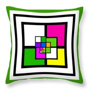 New Green Throw Pillow