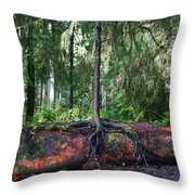 New Growth Throw Pillow by Anthony Jones