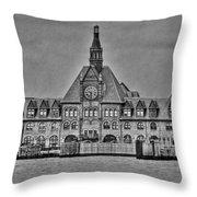 New Jersey Terminal Throw Pillow