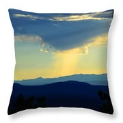 New Mexican Light Throw Pillow