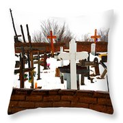New Mexico Christmas Eve Throw Pillow