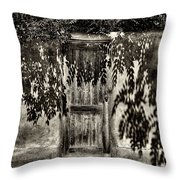 New Mexico Door Throw Pillow