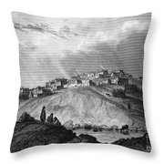 New Mexico: Laguna Pueblo Throw Pillow
