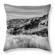 New Mexico Series - A View Of The Land Throw Pillow