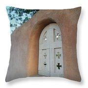 New Mexico Series - Adobe Arch Throw Pillow