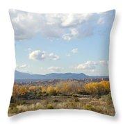 New Mexico Series - Autumn Landscape Throw Pillow