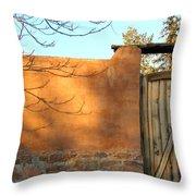 New Mexico Series - Doorway II Throw Pillow