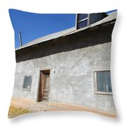 New Mexico Series - House In Truchas Throw Pillow