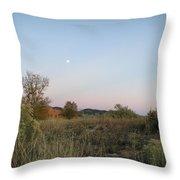 New Mexico Series - Moonrise Throw Pillow