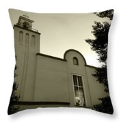 New Mexico Series - Our Lady Of Guadalupe Church Throw Pillow