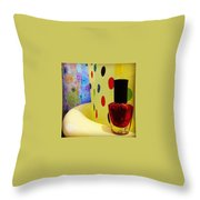 New Nail Polish Throw Pillow