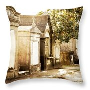 New Orleans Lafayette Cemetery No.1 Throw Pillow