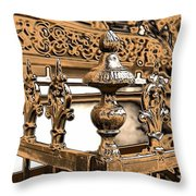 New Orleans Story Throw Pillow