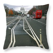 New View Throw Pillow