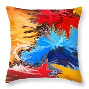 New Years Throw Pillow by Chris Butler