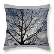 New Year's Morning Throw Pillow