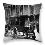 New York: Ambulance, 1895 Throw Pillow
