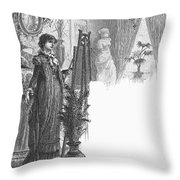 New York: Artist, 1882 Throw Pillow