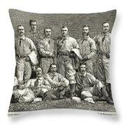 New York Baseball Team Throw Pillow