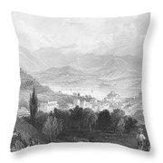 New York: Catskills, 1839 Throw Pillow