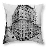 New York City - Western Union Telegraph Building Throw Pillow