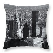 New York City Esb View II Throw Pillow