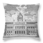 New York: City Hall, C1829 Throw Pillow