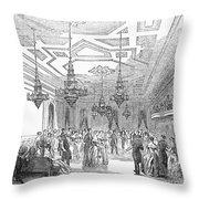 New York: Opera House Throw Pillow