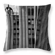 New York Reflections 1 Throw Pillow