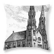 New York: St. Georges Throw Pillow