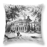 New York State: House Throw Pillow