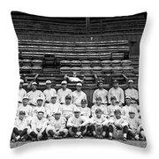 New York Yankees, C1921 Throw Pillow