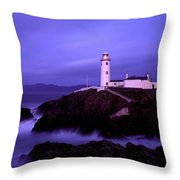 Newcastle, Co Down, Ireland Lighthouse Throw Pillow