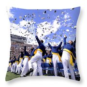 Newly Commissioned Second Lieutenants Throw Pillow
