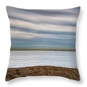 Newport Beach Throw Pillow