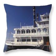 Newport Harbor Nautical Museum - 1 Throw Pillow