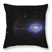 Ngc 4651, The Umbrella Galaxy Throw Pillow